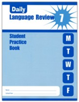 Daily Language Review, Grade 7 Student Workbook