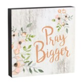 Pray Bigger, Box Art