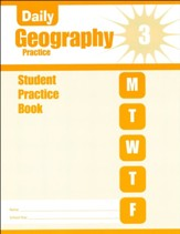 Daily Geography Practice, Grade 3  Student Workbook