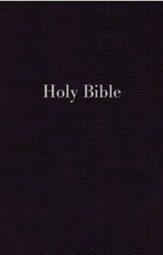 NIV Giant-Print Personal-Size Reference Bible--imitation leather, black