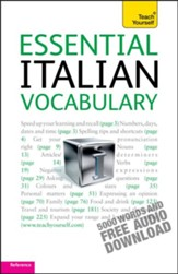 Essential Italian Vocabulary: Teach Yourself / Digital original - eBook