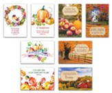 Thanksgiving Card Assortment, Box of 24