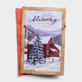 God Will Order A Blessing on Your Barns Christmas Cards, Box of 18
