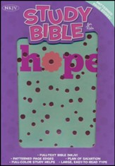 NKJV Study Bible for Kids, Hope LeatherTouch - Imperfectly Imprinted Bibles