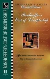 Shepherd's Notes on Bonhoeffer's the Cost of Discipleship - eBook