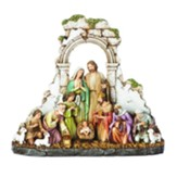 Kneeling Nativity Figurine