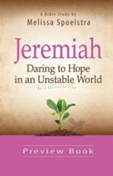 Women's Bible Study Preview Book: Daring to Hope in an Unstable World - eBook