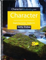 Character Italic: Beginning Cursive  Grades 3-6, Getty-Dubay Edition