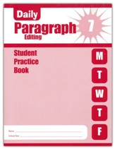 Daily Paragraph Editing, Grade 7  Student Workbook