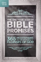 The One Year Book of Bible Promises: 365 Meditations on the Wonderful Promises of God - eBook