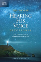 The One Year Hearing His Voice Devotional: 365 Days of Intimate Communication with God - eBook