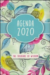2020 The Treasure of Wisdom Daily Agenda, Birds and Flowers