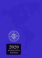 2020 The Treasure of Wisdom Executive Agenda, royal purple