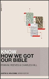 Know How We Got Our Bible - unabridged audiobook on CD