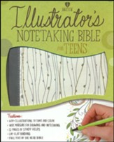 HCSB Illustrator's Notetaking Bible for Teens  - Imperfectly Imprinted Bibles