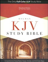 KJV Study Bible, Canary and Slate Grey LeatherTouch, Thumb-Indexed