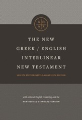 The New Greek-English Interlinear New Testament, hardcover