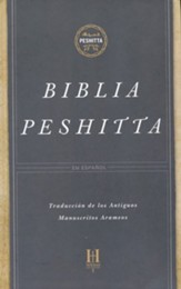 Biblia Peshitta, Tapa Dura con Indice  (The Peshitta Bible, Hardcover Thumb-Indexed)