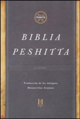 Biblia Peshitta, Smmil Piel Caoba  (The Peshitta Bible, Brown LeatherTouch)