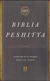 Biblia Peshitta, Piel Imit. Negra con Indice  (The Peshitta Bible, Black Imitation Leather, Thumb-Indexed)