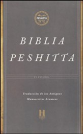 Biblia Peshitta, Piel Imit. Negra  (The Peshitta Bible, Black Imitation Leather)