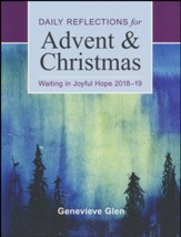 Waiting in Joyful Hope: Daily Reflections for Advent and Christmas 2018-2019 / Large type / large print edition