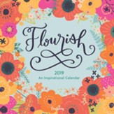 2019 Flourish, Wall Calendar