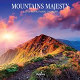 2019 Mountains Majesty, Wall Calendar