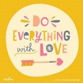 2019 Do Everything with Love, Wall Calendar