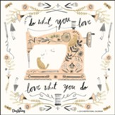 2019 Do What You Love, Wall Calendar