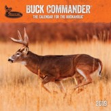 2019 Buck Commander, Wall Calendar