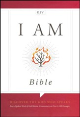 KJV I Am Bible, Brown LeatherTouch, Thumb-Indexed