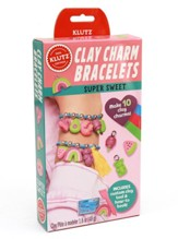 Clay Charm Bracelets, Super Sweet