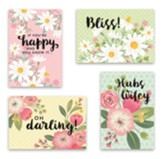 City Pretty Wedding Cards, Box of 12