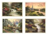 Thomas Kinkade Sympathy Cards, KJV, Box of 12