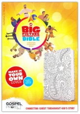 The CSB Big Picture Interactive Bible, Make-It-Your-Own Crown LeatherTouch