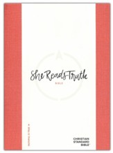 CSB She Reads Truth Bible, Poppy Linen