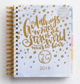 2019 God Always, 18 Month Planner