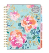 2019 Floral, 18 Month Planner
