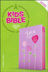 CSB Kids Bible, Love LeatherTouch - Slightly Imperfect