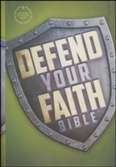 CSB Defend Your Faith Bible: The Apologetics Bible for Kids, Hardcover