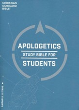 CSB Apologetics Study Bible for Students, Hardcover, Thumb-Indexed