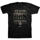 Stand Strong, Soldiers, Shirt, Black, 3X-Large
