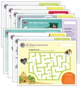 Answers Bible Curriculum PreK-1 Unit 1 Take Home  Sheets (1 Pack; 2nd Edition)