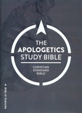 CSB Apologetics Study Bible, Hardcover, Thumb-Indexed