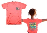 My Soul Finds Rest, Hammock, Shirt, Coral Silk, Large