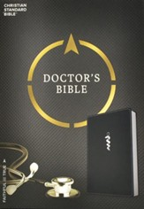CSB Doctor's Bible, Black LeatherTouch