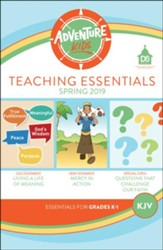 D6: Adventure Kids Teaching Essentials (KJV), Spring 2020