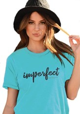 Imperfect and Forgiven Shirt, Teal, X-Large