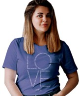 Love Chapter Shirt, Periwinkle, Small